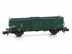 MU N-G34011 - Güterwagen Omm 34 SNCB Ep.III - Spur N - NEU