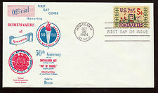 1964 American Homemakers First Day of Issue Honolulu cancel stamp cover envelope