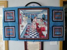 """Today's Diner"" Panel By VIP-Diner From Days Gone By!  23"" x 43""-OOP"