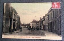 CPA. LA CROIX EN BRIE. 77 - Rue Principale. 1908.