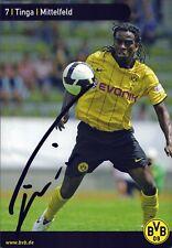 Tinga-Borussia Dortmund-Football Original Autographe Autograph (m-2452