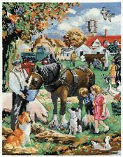 DMC Feeding the horse Counted Cross Stitch Kit BK745