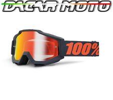 Panel Gafas 100% Accuri Offroad Moto Enduro Cross Lentes Espejo + Neutral