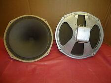 New listing 2 Vintage Alnico Magnet 12 Inch Speakers 1950'S Era Radio Speakers Canada