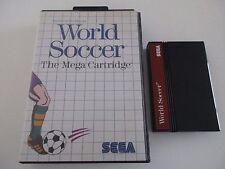 WORLD SOCCER - SEGA MASTER SYSTEM