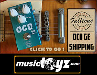 Fulltone GE-OCD Germanium Overdrive Guitar Pedal - Auth Dealer - SHIPPING - NEW