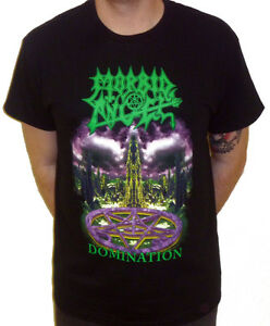 """Morbid Angel """"Domination"""" T-shirt - NEW OFFICIAL"""