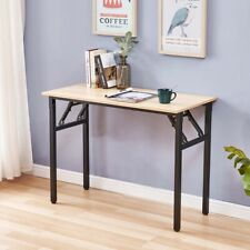 More details for computer desk home office folding desk study desk wooden bar table coffee table