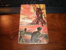 CAPTAIN.W.E.JOHNS/KING ET LES LOUPS-GAROUS 1948 EO Jaquette