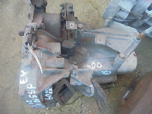 RENAULT CLIO 1200 98 TO 07 FRONT STARTER TYPE 5SP GEARBOX