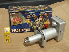 More details for vintage johnson disney film strip projector with 1 slide and boxed