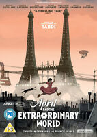 April and the Extraordinary World DVD (2016) Christian Desmares cert PG