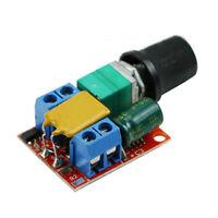 New Ultra-small DC 3V 6V 12V 24V 35V PWM Mini Motor Speed Controller Switch 5A