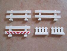 Lego Fence 33303-6079 Weiß Zaun