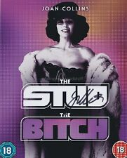More details for joan collins hand signed 8x10 photo autograph the bitch, the stud, dynasty (m)