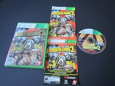 Microsoft Xbox 360:  Borderlands 2 Complete in case & tested