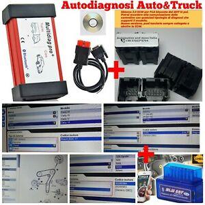 Auto Diagnosi Multimarca X Auto+Truck+Dati Tecnici+Bypass SGW per Fca Bloccate