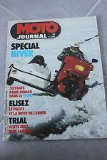 MOTO JOURNAL N°581 SUZUKI RM 80 500 YAMAHA XT 400 BFG 1300 PARIS-DAKAR 1982