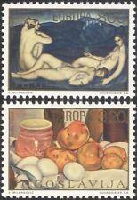Yugoslavia 1975 Europa/Art/Paintings/Artists/Painters/Nude/Naked 2v set (n45265)