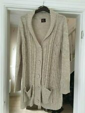 Woman's Long Knitted  Cardigan Size 22