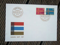 SWITZERLAND EUROPA STAMPS   FIRST DAY COVER 3/5/1971