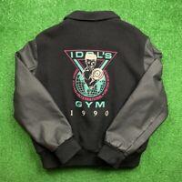 Vintage Nike Billy Idol Gym Cast And Crew Promo Jacket 1990 Rare Sample T Shirt