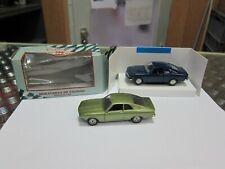 2x Model Car 1/43 Opel 1x Pilen OPEL MANTA A 1x Solido Opel Manta 1900 SR
