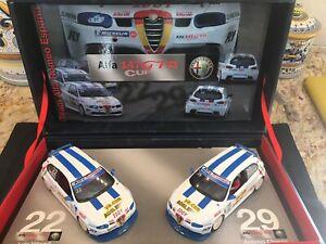FLY 96042 Team Alfa Romeo Espana 1/32 Slot Cars Team Set Alfa 147 GTA Cup New
