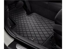 4 Pc OEM Mini Cooper F55 All Weather Rubber Floor Mat Set Front Rear Mini Logo