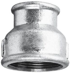 "Galvanised Iron Reducing Sockets  :  1/4"" to 4"" BSP"