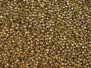 Metal Beads Gold 100pc Jewellery Spacer Tibetan DIY Jewelry Fillers FREE POSTAGE