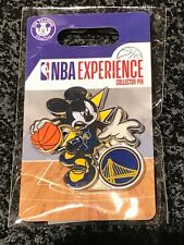 Disney Pin DS Mickey Mouse NBA Experience Golden State Warriors NEW