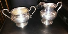 Fisher sterling creamer and sugar bowl estate find