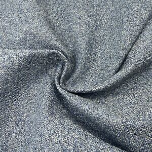 Multi Texture Navy Blue Upholstery Fabric Material 140cm wide NEXT 319A