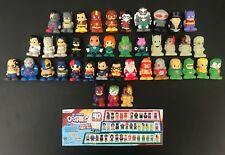 **GENUINE DC COMICS OOSHIES SERIES 2 COMPLETE SET**