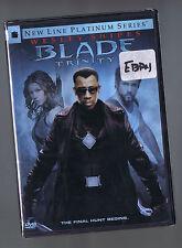 BLADE TRINITY (DVD 2 disc Spec. Ed) Wesley Snipes Jessica Biel Ryan Reynolds NEW