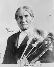 Native American Indian Apache Chief Geronimo 1904 6x5 Inch Reprint Photo