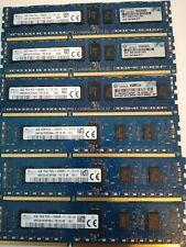LOT RAM mémoire 32Go (2x16Go) DDR3 PC3-12800R ECC pour serveur