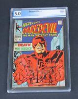 Daredevil #41 PGX 5.0 Marvel Comics 1968 Silver Age