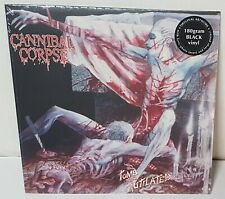 Cannibal Corpse Tomb Of The Mutilated Black Vinyl Record new German press