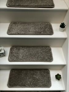 14 Carpet Stair Case Treads Stain Free Pad 14 Large Pads ( Ancona)