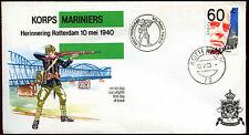Netherlands 1980 Marine Corps, Korps Mariniers Cover #C40276