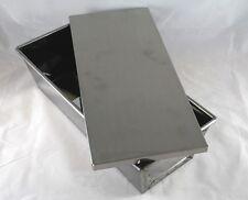 Kastenform, Brotbackform, VA, Edelstahl, 2,0 kg, mit Deckel, säurefest