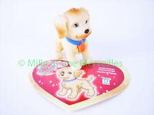 Figurine WILLIAM ou SUSANNA le Golden Retriever + sa carte  Puppy  in my Pocket