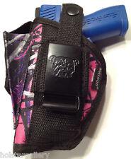 Sig Mosquito | Muddy Girl Nylon Gun Holster Pink Purple Camo | Use L or R Hand