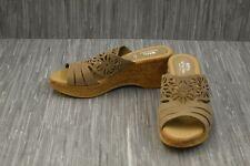 **Spring Step Dora Wedge Sandal, Women's Size 7.5-8, Beige NEW