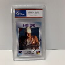 Amanda Beard Sports Illustrated Kids Autographed Card