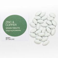Vegano Zinc & cobre, alimentos integrales, Cabello, Piel Y Uñas, Reparación muscular, complejo Probiótico