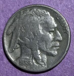 1935 P Buffalo Nickel #C8