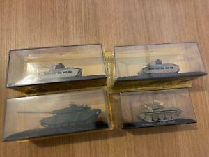British Matilda Challenger Cromwell 1/72 Tank diecast / plastic figures Altaya
